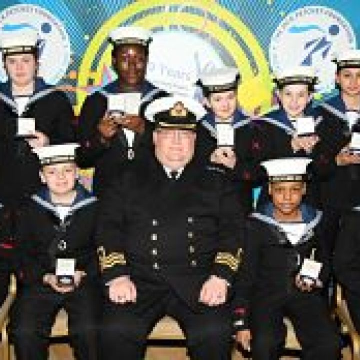 Sea Cadets Scoop Awards